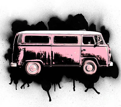 Fleetwood Mac - Van go by Jorgo Photography - Wall Art Gallery
