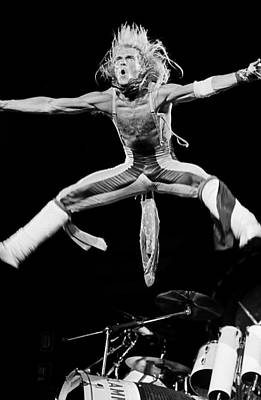 Photograph - Van Halen In Concert At The Forum by George Rose