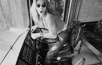 Music Photograph - Van Halen In Lewisham by Fin Costello