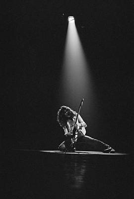 Photograph - Van Halen Live At The Rainbow by Fin Costello