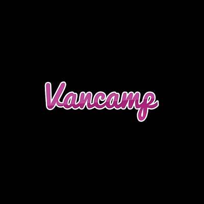 Digital Art - Vancamp #vancamp by TintoDesigns