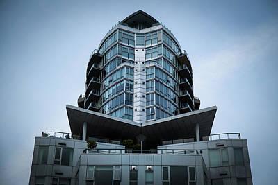 Photograph - Vancouver Architecture by Juan Contreras