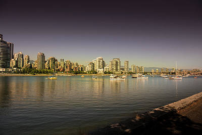 Photograph - Vancouver In Magical Hours by Juan Contreras