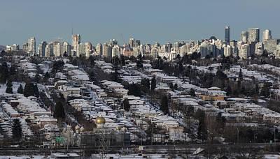 Photograph - Vancouver In Winter No. 1 by Juan Contreras