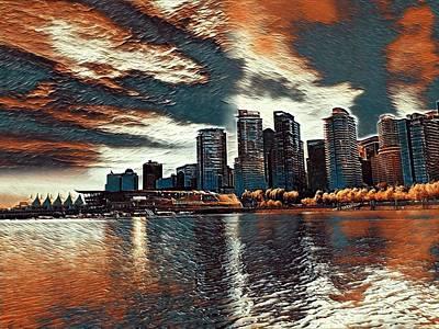 Vancouver Art Print by Keith Cassatt