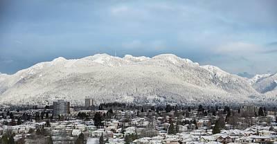 Photograph - Vancouver Mountain No. 1 by Juan Contreras