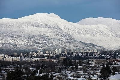 Photograph - Vancouver Mountain No. 3 by Juan Contreras