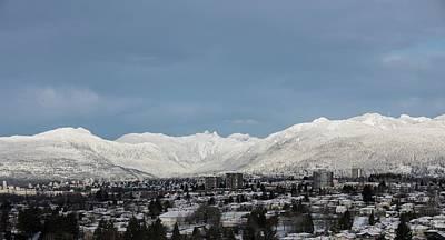 Photograph - Vancouver Mountains No. 2 by Juan Contreras