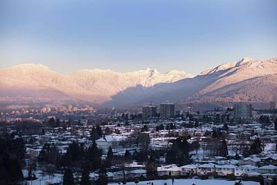 Photograph - Vancouver Peaks by Juan Contreras