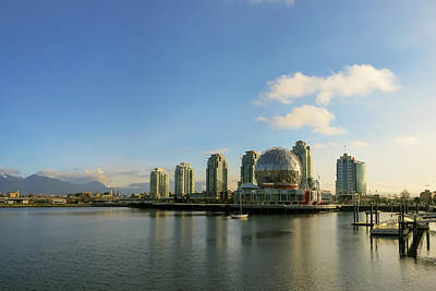 Photograph - Vancouver Science World by Dave Matchett