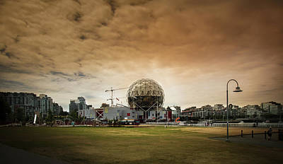 Photograph - Vancouver Science World by Juan Contreras