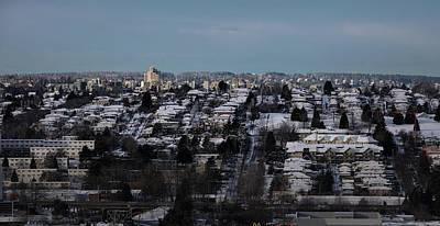 Photograph - Vancouver Winter No. 3 by Juan Contreras
