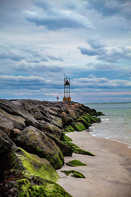 Photograph - Vanishing Moriches Inlet by Robert Seifert