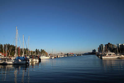 Photograph - Vanvouver Marina by Perggals - Stacey Turner