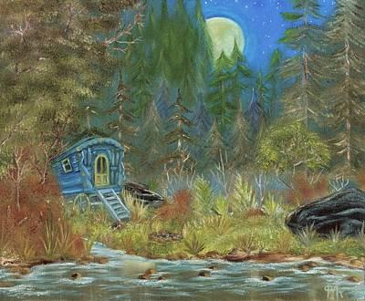 Painting - Vardo Dreams by The GYPSY
