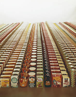 Food Photograph - Variety Of Packaged Food And Toys by Tom Kelley Archive