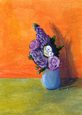 Painting - Vase 1 by Mary Elizabeth Thompson