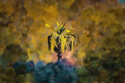 Surrealism Digital Art Rights Managed Images - Vase #i0 Royalty-Free Image by Leif Sohlman