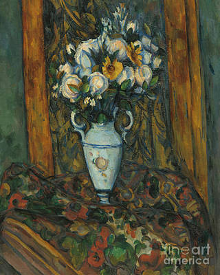 Painting - Vase Of Flowers, 1900 To 1903  by Paul Cezanne