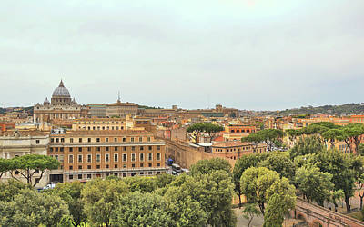 Photograph - Vatican City In Site by JAMART Photography
