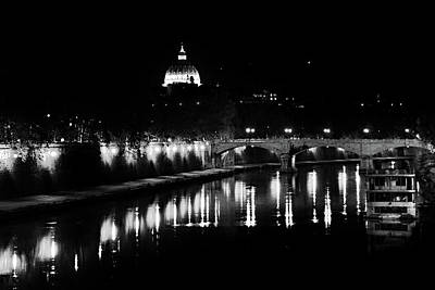 Photograph - Vatican From River by Images Unlimited