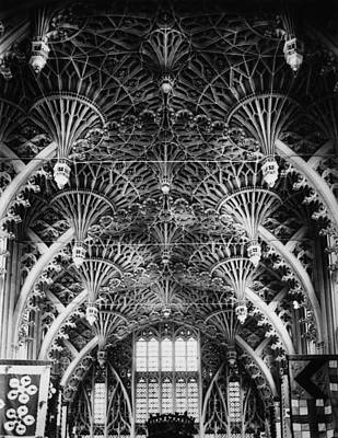 Photograph - Vaulted Ceiling by Hulton Archive