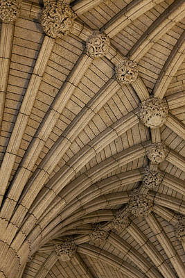 Vaulted Ceiling In The Centre Block In Art Print