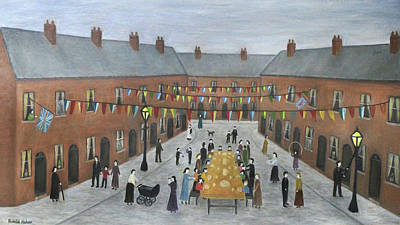 Caravaggio -      Ve Day Street Party Celebration - Salford by Ronald Haber
