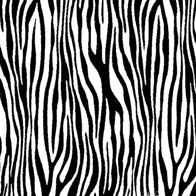 Painting - Vegan Zebra Fur Animal Print Design by Taiche Acrylic Art