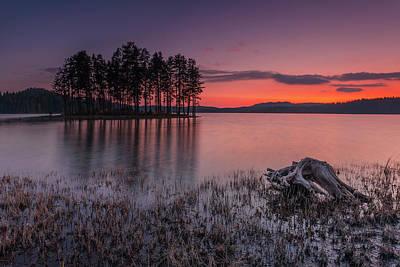 Island Wall Art - Photograph - Velvet Lake  by Evgeni Dinev