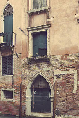 Photograph - Venetian Architecture by Georgia Fowler