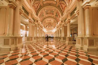 Photograph - Venetian Hall by Alex Grichenko