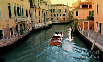 Digital Art - Venetian Scene by Lutz Roland Lehn