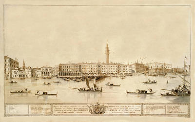 Photograph - Venice 1780 by Andrew Fare