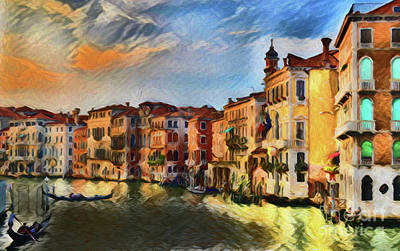 Photograph - Venice A8-1 by Ray Shrewsberry