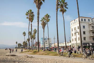 Photograph - Venice Beach And Bike Path by John McGraw