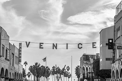 Photograph - Venice Beach Sign by John McGraw