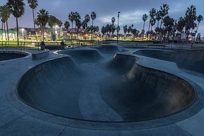 Photograph - Venice Beach Skate Park  by John McGraw
