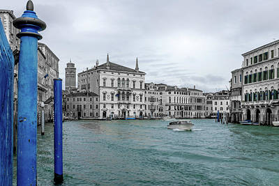 Photograph - Venice Blue by Georgia Fowler