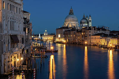 Photograph - Venice By Night by Susan Leonard