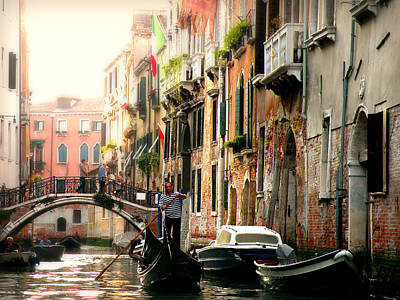 Photograph - Venice Canals by Micki Findlay