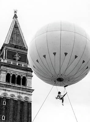 Photograph - Venice Carnival Acrobat by John Rizzuto