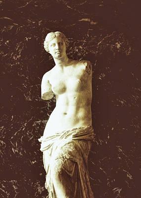 Photograph - Venice De Milo Statue by JAMART Photography