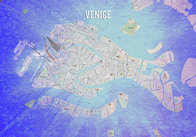 Digital Art - Venice by Gary Grayson