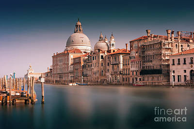 Photograph - Venice Grand Canal by Miles Whittingham
