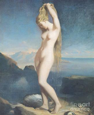Painting - Venus Anadyomene, Or Venus Of The Sea, 1838 by Theodore Chasseriau