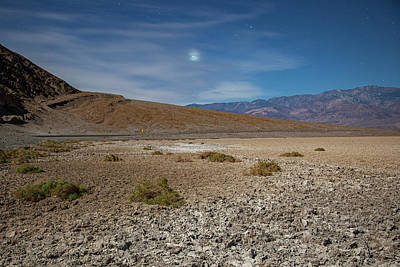 Photograph - Venus Over Badwater by Al Hann