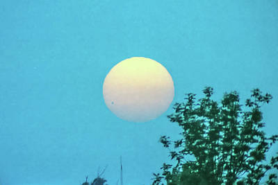 Photograph - Venus Transit June 8, 2004 by Lon Dittrick