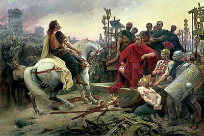 Painting - Vercingetorix by Lionel Royer