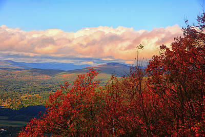 Photograph - Vermont From Mount Greylock 2 by Raymond Salani III